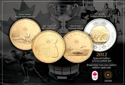 ENSEMBLES HORS-CIRCULATION -  ENSEMBLE HORS-CIRCULATION 2012 - ÉDITION SPÉCIALE -  PIÈCES DU CANADA 2012