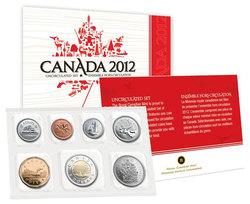 ENSEMBLES HORS-CIRCULATION -  ENSEMBLE HORS-CIRCULATION 2012 -  PIÈCES DU CANADA 2012 73