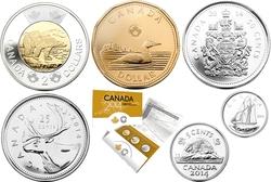 ENSEMBLES HORS-CIRCULATION -  ENSEMBLE HORS-CIRCULATION 2014 -  PIÈCES DU CANADA 2014