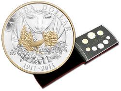 ENSEMBLES NUMISMATIQUES -  100E ANNIVERSAIRE DE PARCS CANADA -  PIÈCES DU CANADA 2011 41