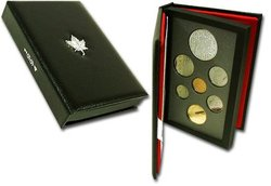 ENSEMBLES NUMISMATIQUES -  25E ANNIVERSAIRE DE LA DERNIÈRE PATROUILLE À ATTELAGE DE CHIENS -  PIÈCES DU CANADA 1994 24