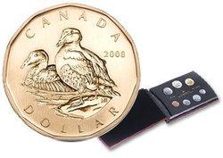 ENSEMBLES SPECIMENS -  L'EIDER À DUVET - ENSEMBLE SPÉCIMEN 2008 -  PIÈCES DU CANADA 2008 28