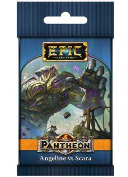 EPIC CARD GAME -  ANGELINE VS SCARA (ANGLAIS) -  PANTHEON