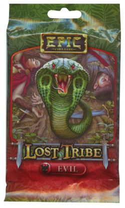 EPIC CARD GAME -  EVIL (ANGLAIS) -  LOST TRIBE