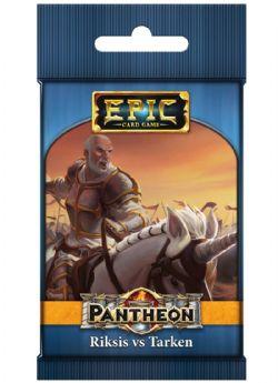EPIC CARD GAME -  RIKSIS VS TARKEN (ANGLAIS) -  PANTHEON