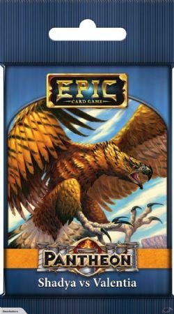 EPIC CARD GAME -  SHADYA VS VALENTIA (ANGLAIS) -  PANTHEON