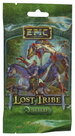 EPIC CARD GAME -  WILD (ANGLAIS) -  LOST TRIBE