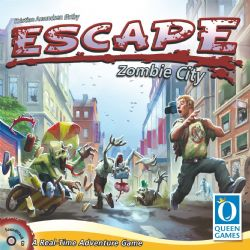 ESCAPE -  ESCAPE - ZOMBIE CITY (ANGLAIS)