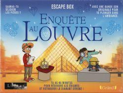 ESCAPE GAME -  ENQUÊTE AU LOUVRE (FRANÇAIS) -  ESCAPE BOX