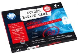 ESCAPE GAME -  LES 7 PIÈCES DE CRISTAL -  SOIRÉE ESCAPE GAME