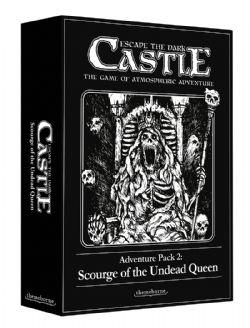ESCAPE THE DARK CASTLE -  SCOURGE OF THE UNDEAD QUEEN (ANGLAIS)