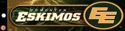 ESKIMOS D'EDMONTON -  AUTOCOLLANT DE PARE-CHOC
