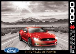 EUROGRAPHICS -  2015 FORD MUSTANG (1000 PIECES)