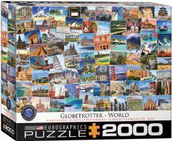 EUROGRAPHICS -  BOURLINGUEUR - LE MONDE (2000 PIECES)