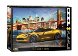 EUROGRAPHICS -  CORVETTE Z06: OUT FOR A SPIN (1000 PIECES)