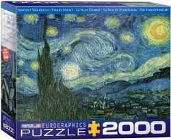 EUROGRAPHICS -  LA NUIT ÉTOILÉE (2000 PIECES)
