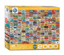 EUROGRAPHICS -  LE VW MINIBUS (2000 PIECES)
