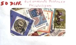 EVENEMENTS POSTAUX -  50 DIFFÉRENTS TIMBRES - ÉVÉNEMENTS POSTAUX PHILATÉLIQUES