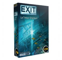 EXIT LE JEU -  LE TRÉSOR ENGLOUTI (FRANÇAIS)