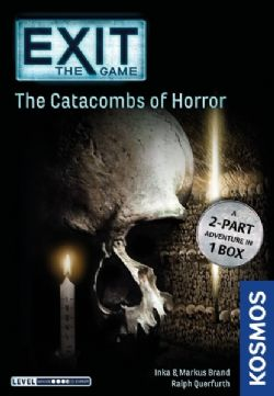 EXIT THE GAME -  THE CATACOMBS OF HORROR (ANGLAIS)