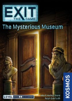 EXIT THE GAME -  THE MYSTEROUS MUSEUM (ANGLAIS)