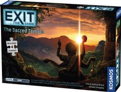 EXIT THE GAME -  THE SACRED TEMPLE (ANGLAIS)