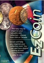 EZ COIN -  LOGICIEL POUR COLLECTION DE MONNAIE DU CANADA ET DES ETATS-UNIS