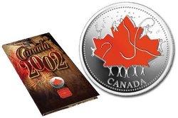 FÊTE DU CANADA -  CÉLÉBRONS UN TRÉSOR -  PIÈCES DU CANADA 2002 04