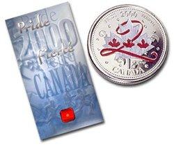 FÊTE DU CANADA -  FIERTÉ -  PIÈCES DU CANADA 2000 02