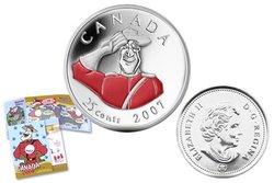 FÊTE DU CANADA -  GENDARMERIE ROYALE DU CANADA -  PIÈCES DU CANADA 2007 09