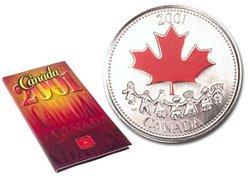 FÊTE DU CANADA -  L'ESPRIT CANADIEN -  PIÈCES DU CANADA 2001 03