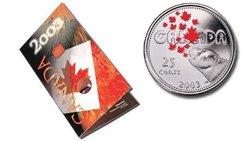 FÊTE DU CANADA -  LA PATRIE DE L'OURS POLAIRE -  PIÈCES DU CANADA 2003 05