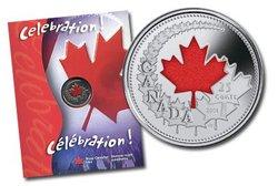 FÊTE DU CANADA -  PIÈCE COLORÉE DE LA FÊTE DU CANADA 2004 -  PIÈCES DU CANADA 2004 06