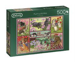FALCON DE LUXE -  PLAYFUL KITTENS (500 PIÈCES)