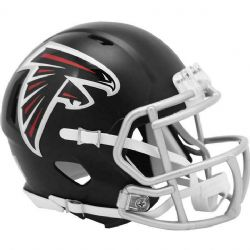 FALCONS D'ATLANTA -  CASQUE GRIS -  MINI RÉPLIQUE