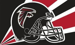 FALCONS D'ATLANTA -  DRAPEAU VERTICAL 36