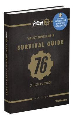 FALLOUT -  OFFICIAL GUIDE COLLECTOR'S EDITION -  FALLOUT 76