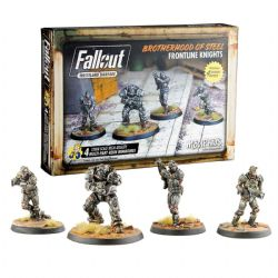 FALLOUT : WASTELAND WARFARE -  FRONTLINE KNIGHTS (ANGLAIS) -  BROTHERHOOD OF STEEL