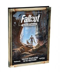 FALLOUT : WASTELAND WARFARE -  HC RULEBOOK / GUIDE (ANGLAIS)