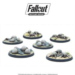 FALLOUT : WASTELAND WARFARE -  MIRELURK HATCHLINGS + EGGS (ANGLAIS) -  CREATURES