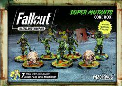 FALLOUT : WASTELAND WARFARE -  SUPER MUTANT CORE BOX (ANGLAIS)