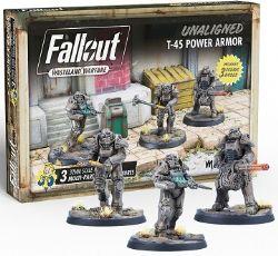 FALLOUT : WASTELAND WARFARE -  T-45 POWER ARMOR (ANGLAIS) -  UNALIGNED