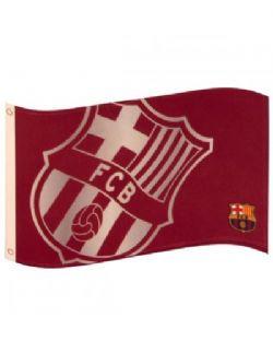 FC BARCELONE -  DRAPEAU VERTICAL (152CM X 91CM)