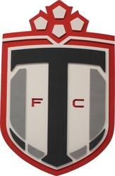 FC DE TORONTO -  PLAQUE MURALE EN MOUSSE LOGO (36CM)