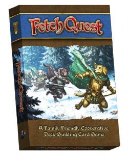 FETCH QUEST -  JEU DE BASE (ANGLAIS)