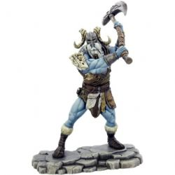 FIGURINE JEU DE ROLE -  ICEWIND DALE, RIME OF THE FROSTMAIDEN - FROST GIANT RAVAGER (ANGLAIS) -  COLLECTOR'S SERIES