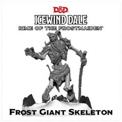 FIGURINE JEU DE ROLE -  ICEWIND DALE, RIME OF THE FROSTMAIDEN - FROST GIANT SKELETON (ANGLAIS)