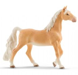 FIGURINE SCHLEICH -  JUMENT SADDLEBRED (14 X 3,8 X 12,3 CM) -  CHEVAUX 13912
