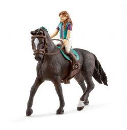 FIGURINE SCHLEICH -  LISA & STORM -  HORSE CLUB 42516