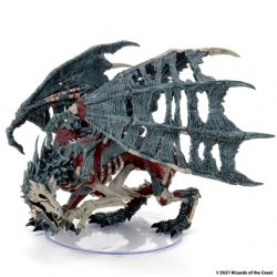 FIGURINES JEU DE ROLE -  ADULT GREEN DRACOLICH -  ICONS OF THE REALMS